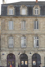 building historical facade france neoclassical