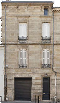 building historical facade france