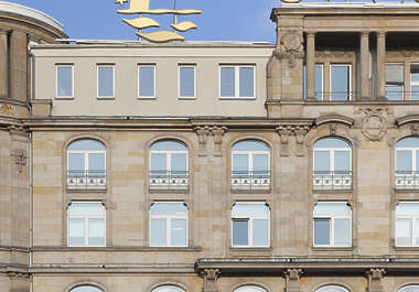 building historical neoclassical germany ornate facade
