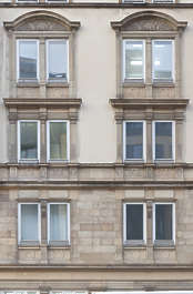 building historical facade residential neoclassical germany