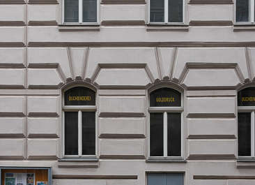 vienna austria windows house wooden tenement neoclassical