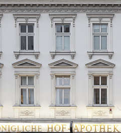 building facade neoclassical residential