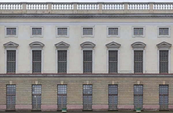 facade building ornate neoclassical