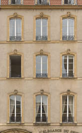 houses old buildings France apartments building facade