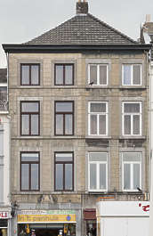building facade apartment house