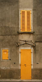 window windows shutter shutters closed building house old