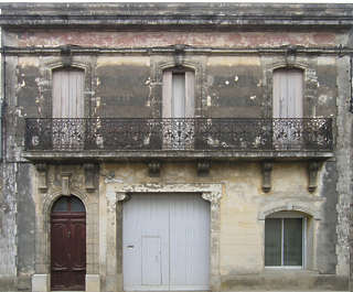 building facade house old