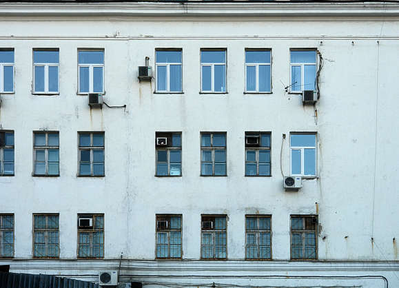 building facade house windows