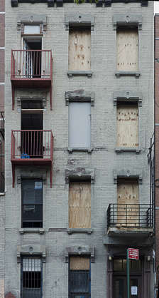 new york ny united states usa building facade residential old