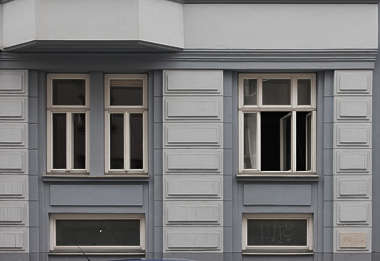 vienna austria windows house wooden tenement