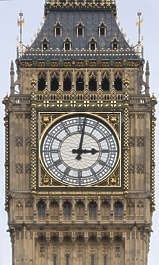 ornate westminister UK london tower building facade westminster tower Big Ben Parliament