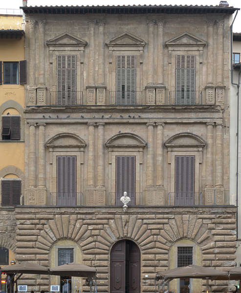 Medieval Building In Florence, Italy