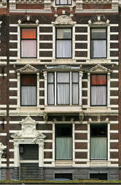 facade building window windows house