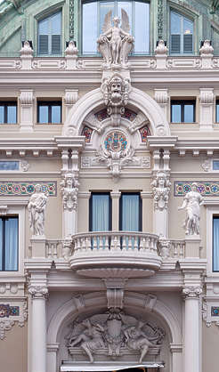 building facade ornament ornate arch