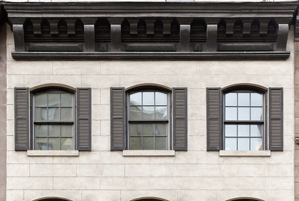 new york ny building facade window windows shutters shutter