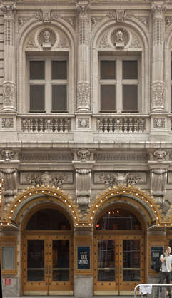 new york ny united states usa building facade residential ornate archway