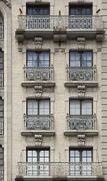new york ny united states usa building facade residential ornate old