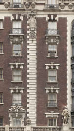 new york ny united states usa building facade residential ornate