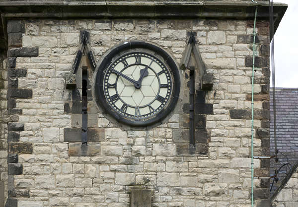 UK building church clock