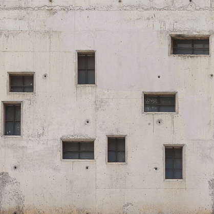 wall concrete windows
