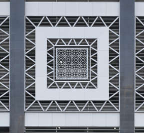 saudi arabia dubai middle east building facade window