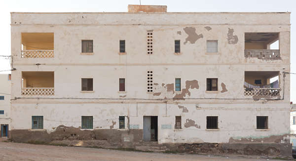 north africa arabia arabian morocco building facade old residential