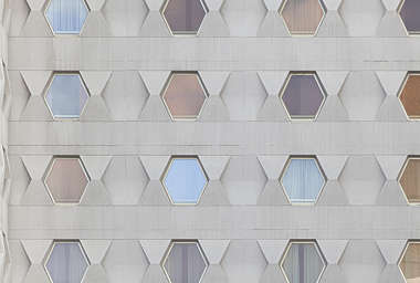 building facade modern abstract spain