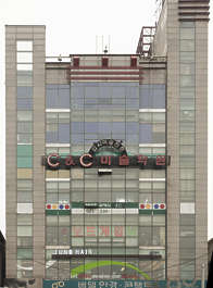 china building facade highrise shopping mall
