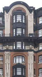 new york ny united states usa building facade residential