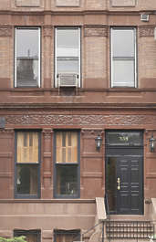 new york ny united states usa building facade residential house