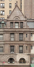 new york ny united states usa building facade residential house old