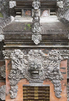 asia indonesia oriental ornament temple building