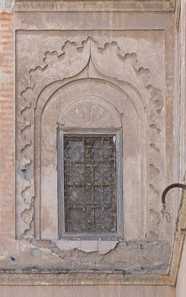 morocco window windows facade building old medieval moorish arch