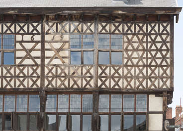 building old facade windows belgium tudor medieval