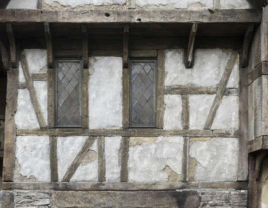 Buildingstudor0055 Free Background Texture Tudor Medieval Wooden Plaster Old Brown
