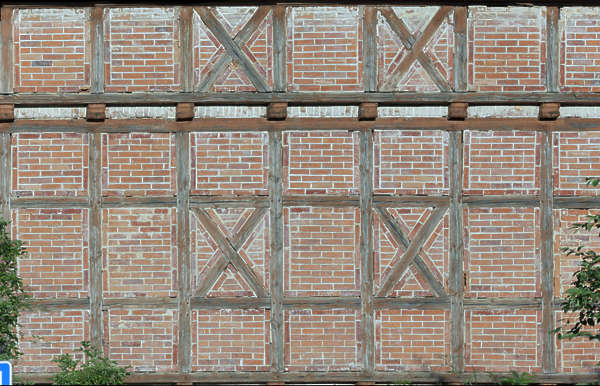 Tudor Facade buildingstudor0081 - free background texture - tudor facade brown