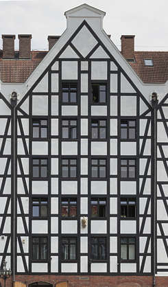 Tudor Facade buildingstudor0089 - free background texture - tudor facade white dark