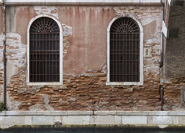 venice building facade italy damaged weathered old