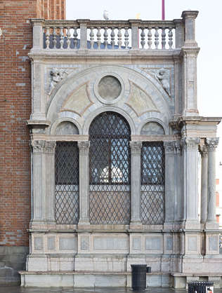 venice building facade italy ornate