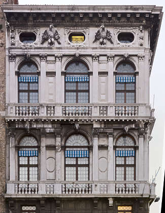 italy venice facade building windows