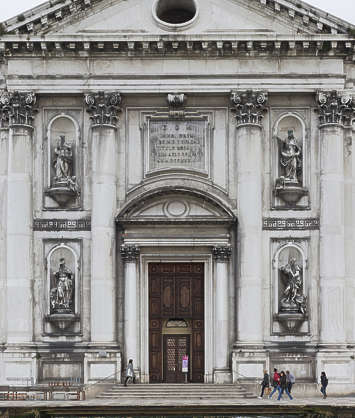 italy venice facade building church ornate