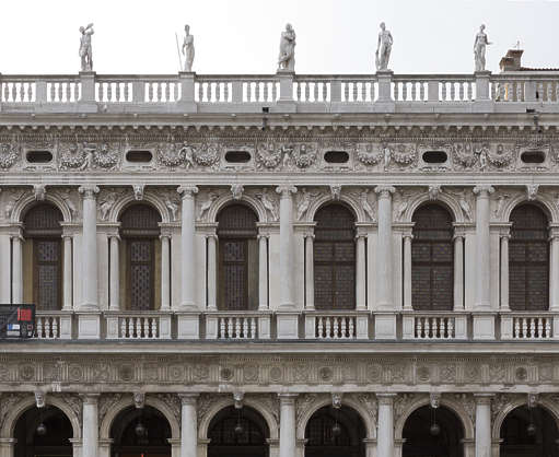 italy venice facade building windows palace ornate