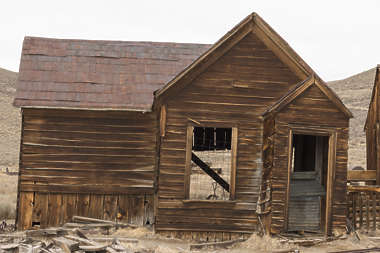 USA Bodie ghosttown ghost town old western goldrush desert arid building wooden house bodie_006