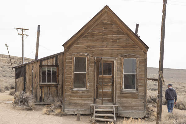 USA Bodie ghosttown ghost town old western goldrush desert arid building wooden house bodie_020