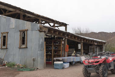 USA nelson ghost town ghosttown building wooden old barn