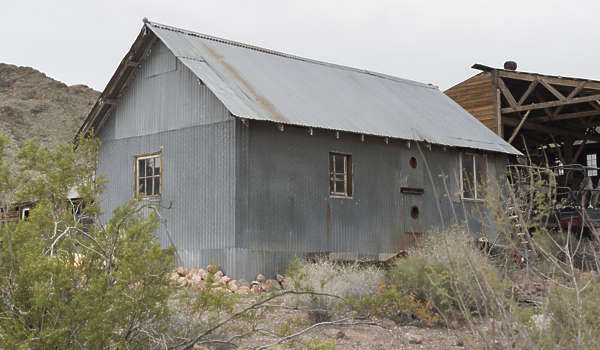 USA nelson ghost town ghosttown metal shed