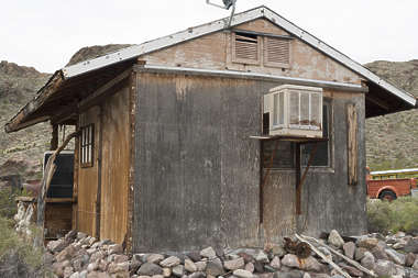 USA nelson ghost town ghosttown building wooden shed barn cabin