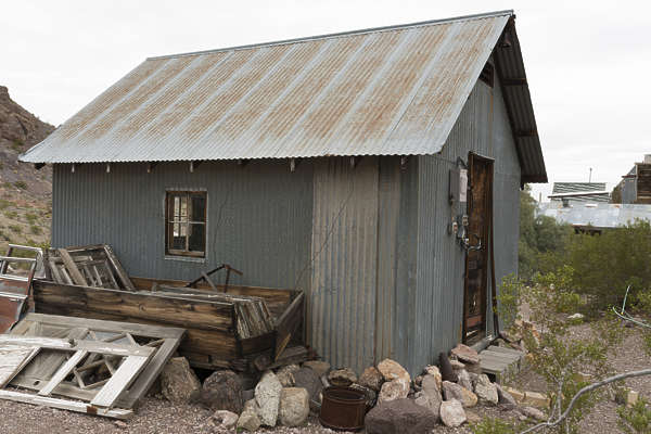 USA nelson ghost town ghosttown building metal shed