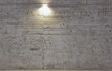 concrete bunker bare indoor inside interior