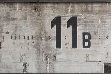 concrete bunker bare number 11 8 9 10 numbers